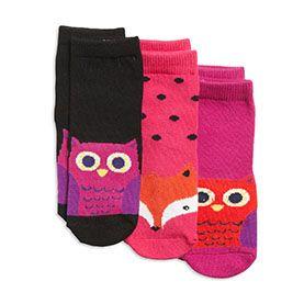 3-pakkaus sukkia. Koko 28.