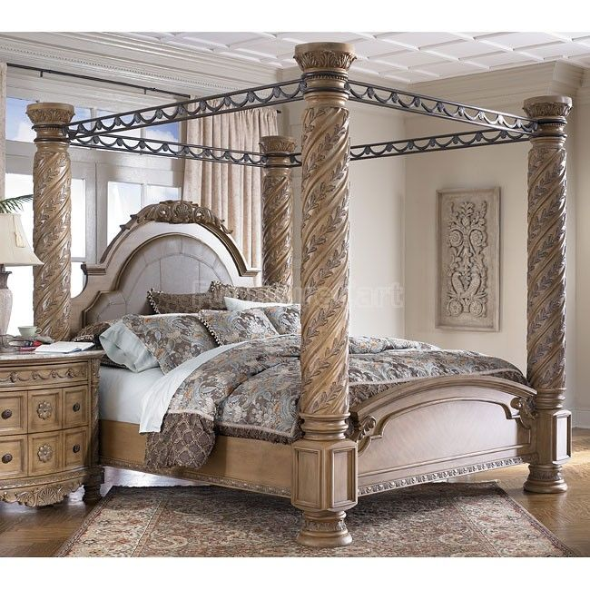South Coast Poster Canopy Bed Canopy Bedroom Sets