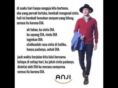 Download Lagu Anji Terbaru Dia Download Lagu Lyrics Youtube