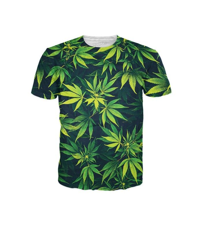 Toddler Baby Girl Weed Leaf Funny Short Sleeve Cotton T Shirts Basic Tops Tee Clothes