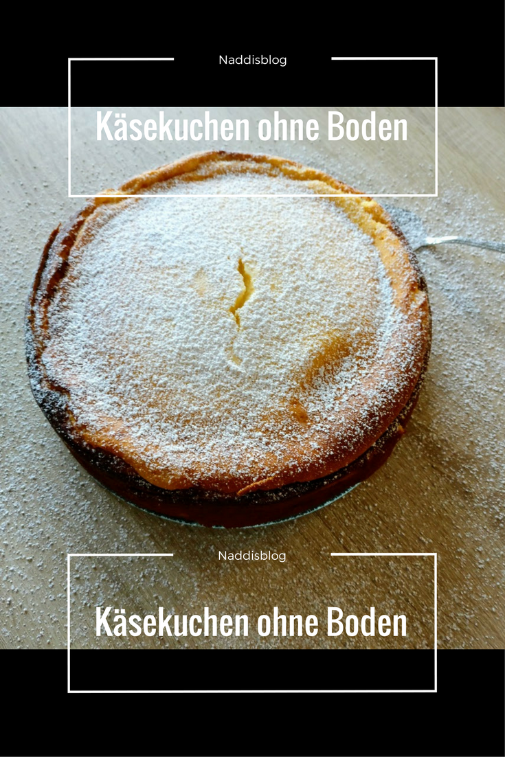 Rezept Kasekuchen Ohne Boden Food Bloggers Pinterest