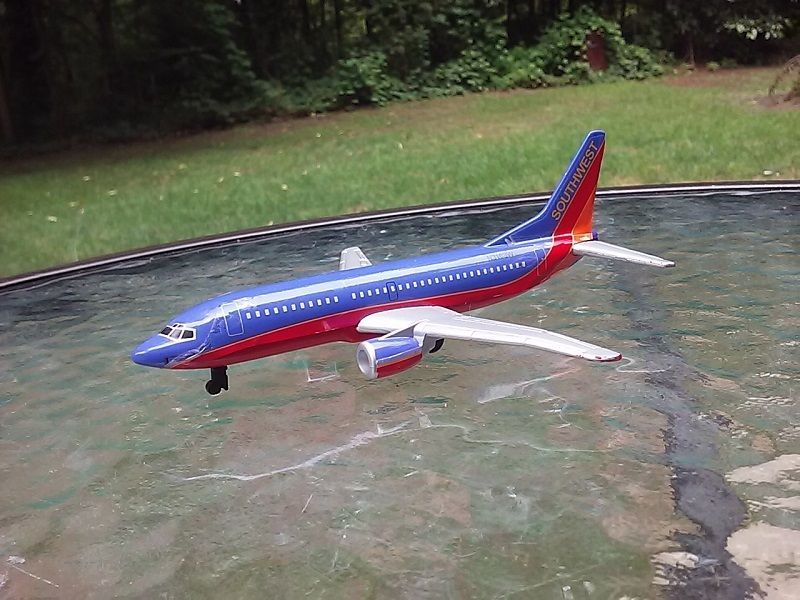 Diecast Model Airplane Southwest Airlines Boeing 737 New Livery