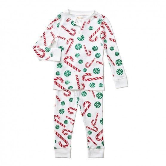 Petidoux Toddler Big Kid Candy Cane Pjs Childrens Fashion Toddler Outfits Toddler Fashion