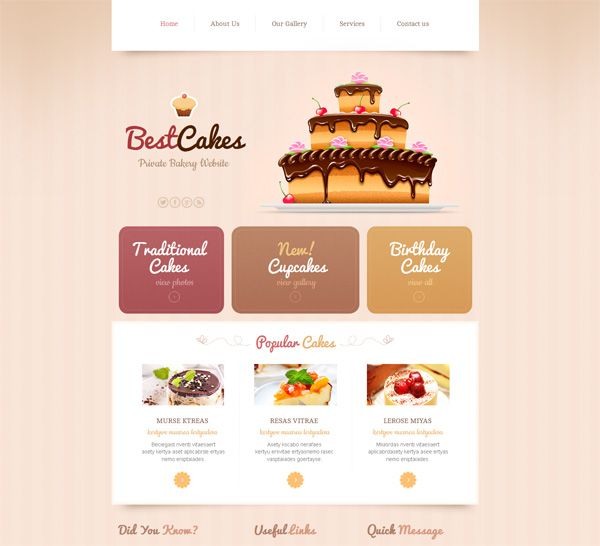 Website Templates In Pastel Colors How To Use Them Right Restoran