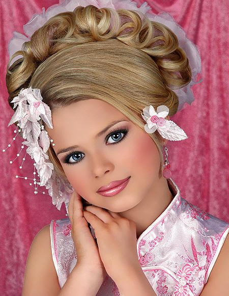 Astonishing The Difference Between Glitz And Natural Glitz Pageant Hair Hairstyles For Women Draintrainus