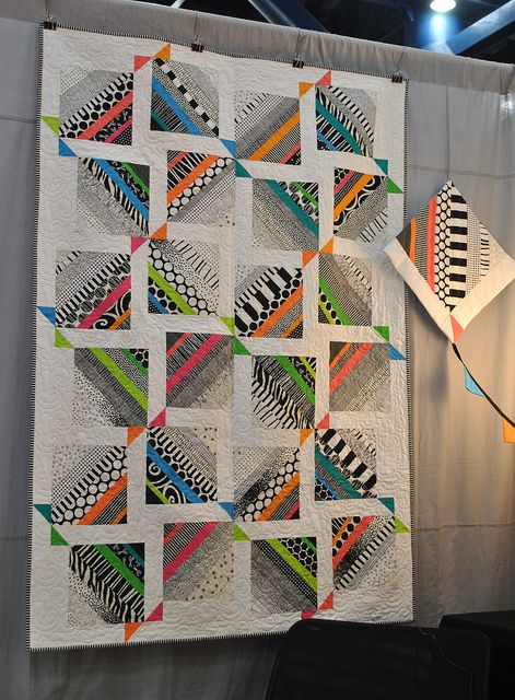 Amazing quilt at Gen Q booth | Flickr - Photo Sharing!