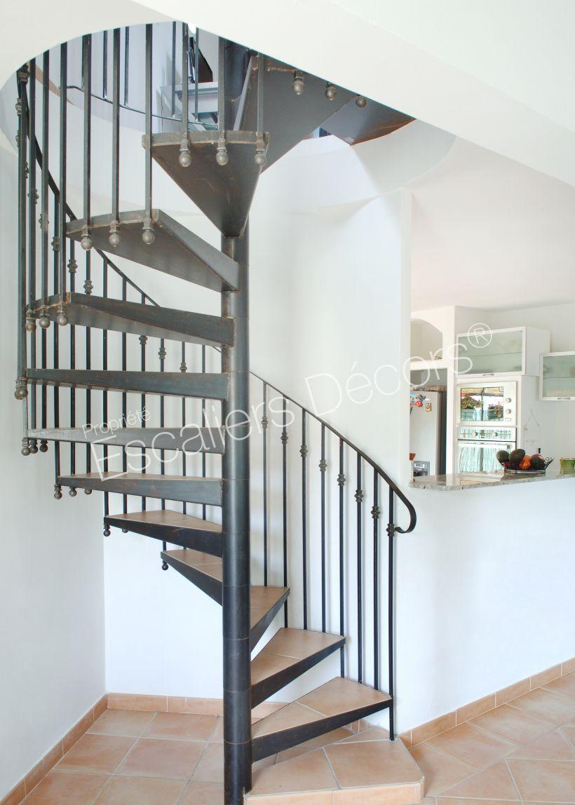 Barriere Escalier En Colimaçon escalier colimaçon classique - escaliers décors® (met