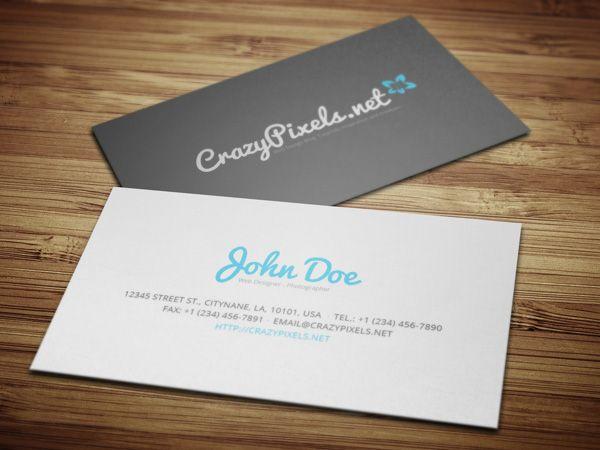 Fun Less Formal Clean Business Card Design Business Card Design Cool Business Cards Business Cards Creative