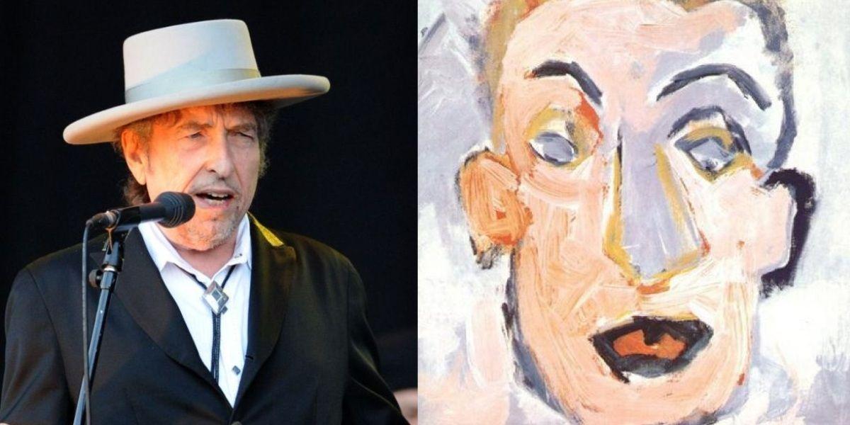 Bob Dylan faz 75 anos: Além do cantor, conhece o pintor?   SAPO Mag