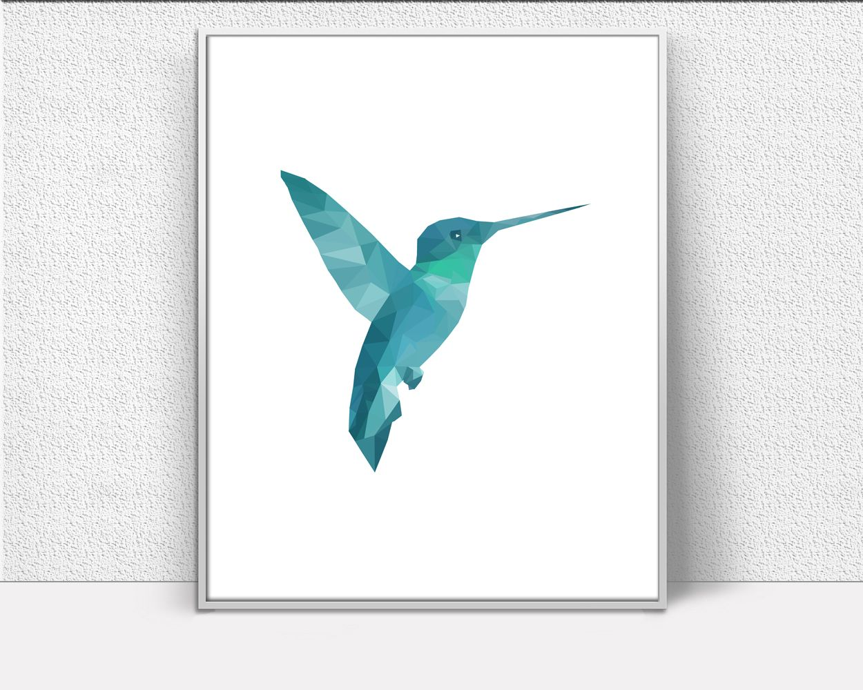 Hummingbird Art Turquoise Wall Bird Inspirational Printable Signs