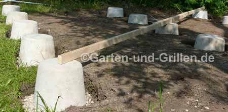 Fundament mit Kellersteinen (mit Bildern) Fundament