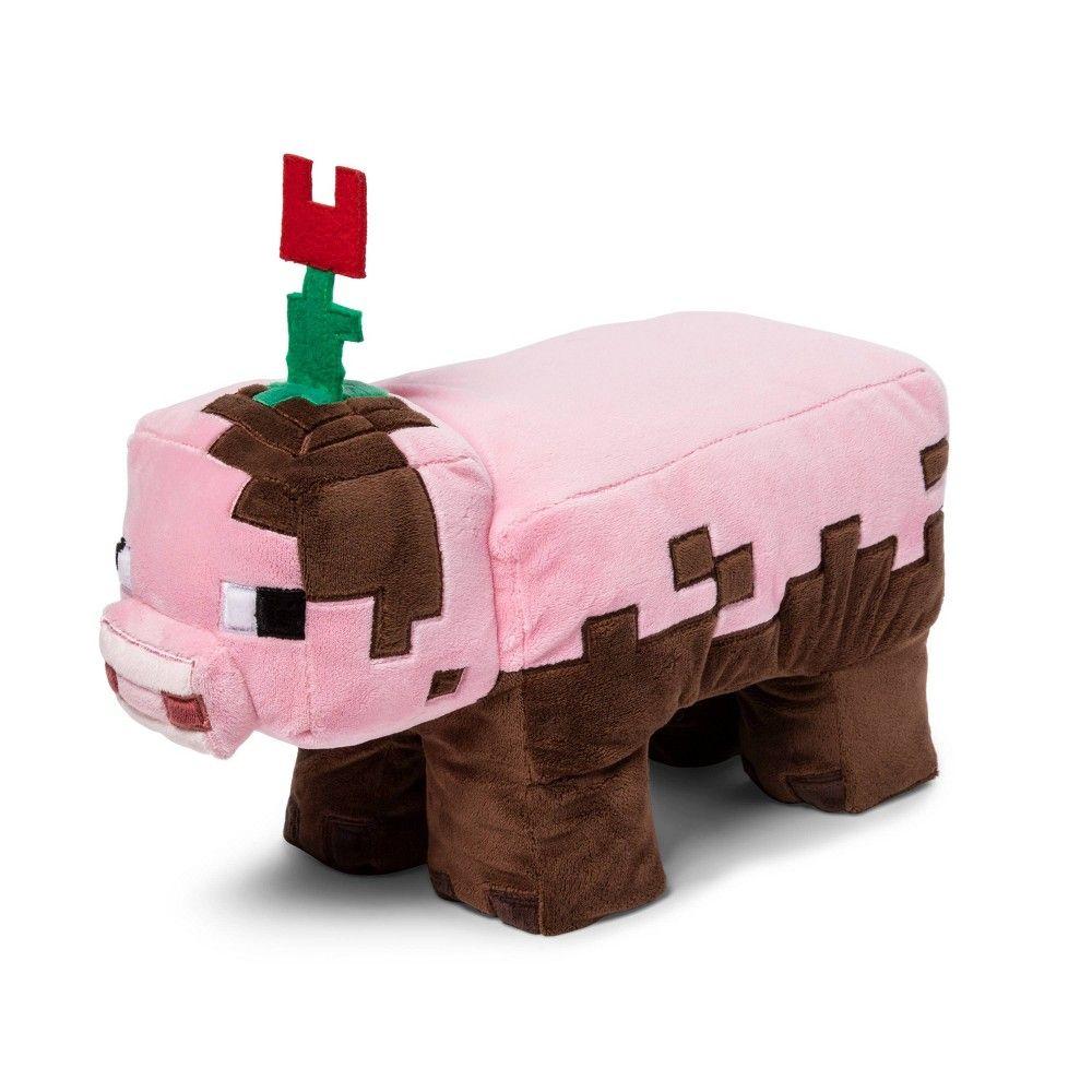 Minecraft Muddy Pig Pillow Buddy  Pig pillow, Muddy pigs