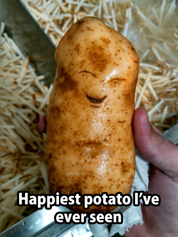 Cutest Potato Ever