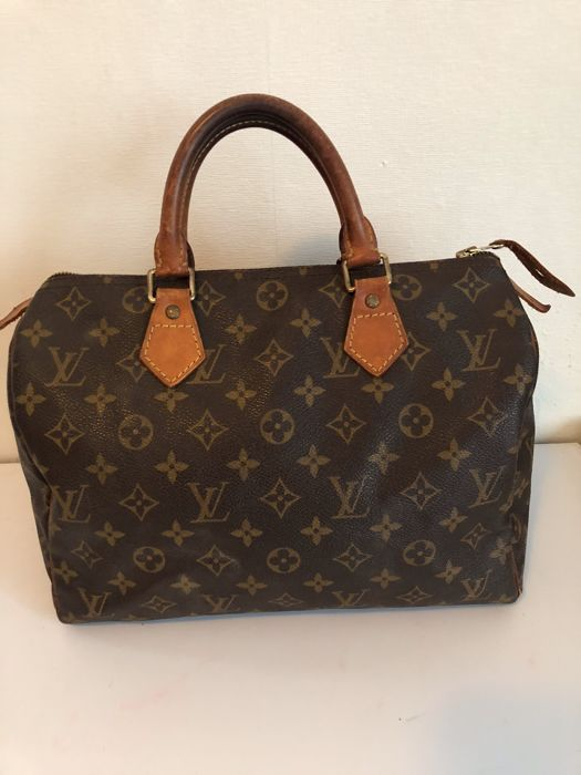 ab894222554 Louis Vuitton - Speedy 30 - handtas Authentieke vintage tas van Louis  Vuitton - ruim model100