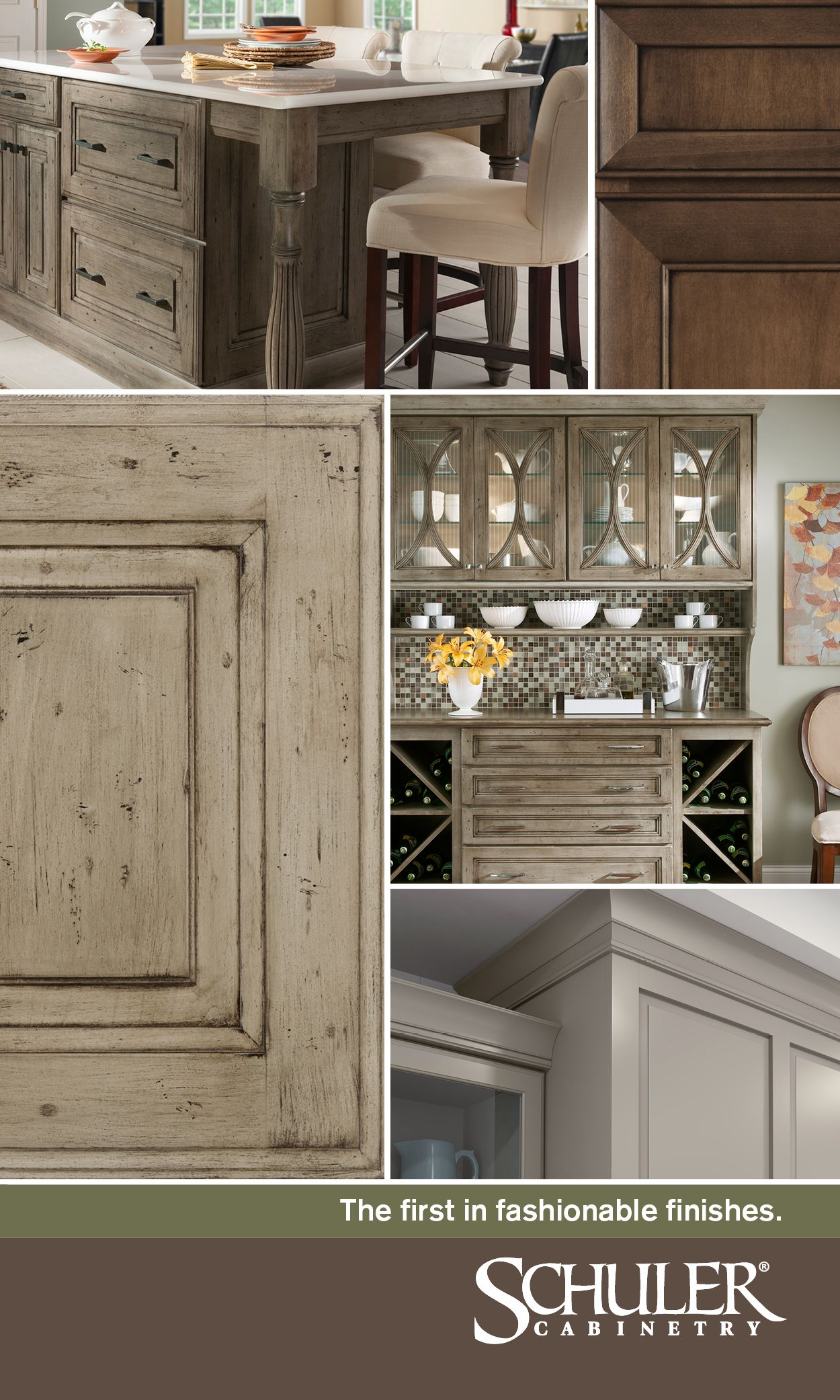 Schuler Cabinetry Is The First In Fashionable Finishes