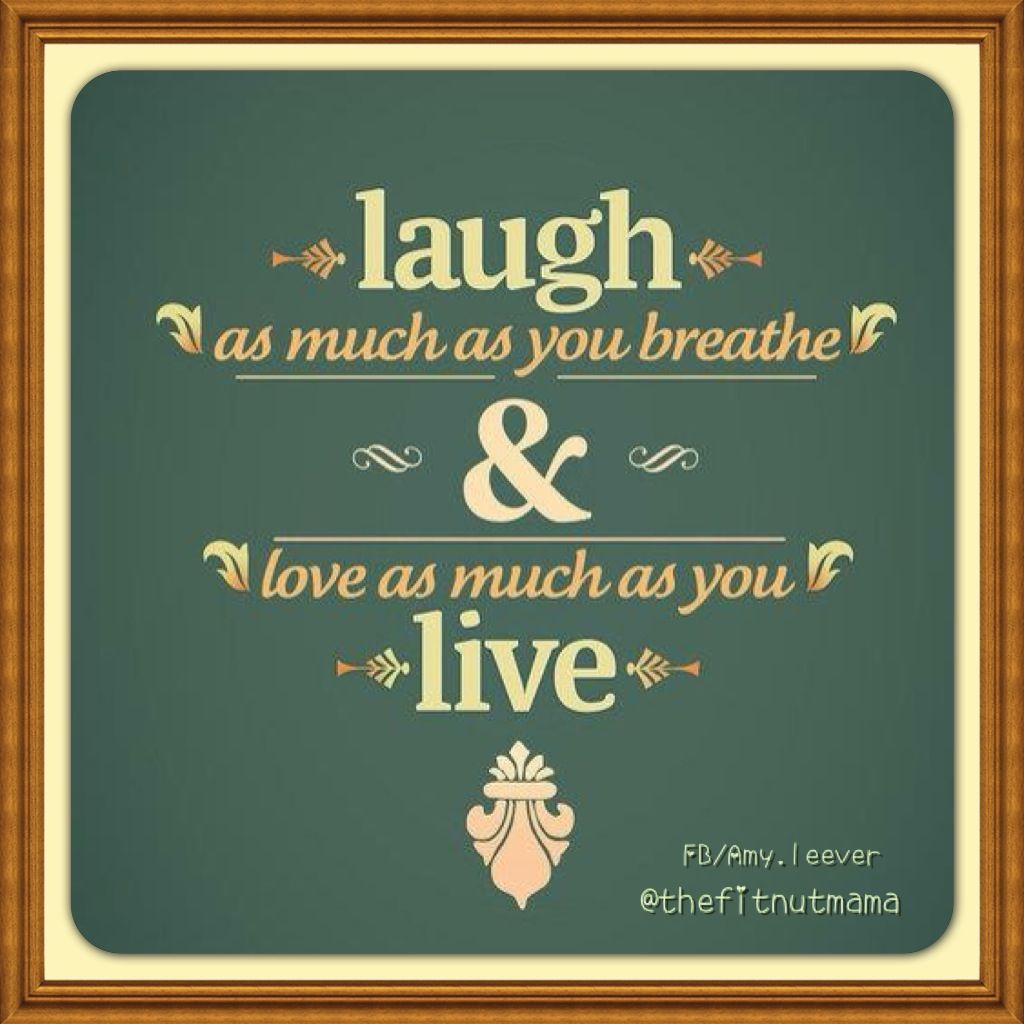 Smile Laugh Love Quotes Live Laugh Love 3  Favorite Sayings  Pinterest