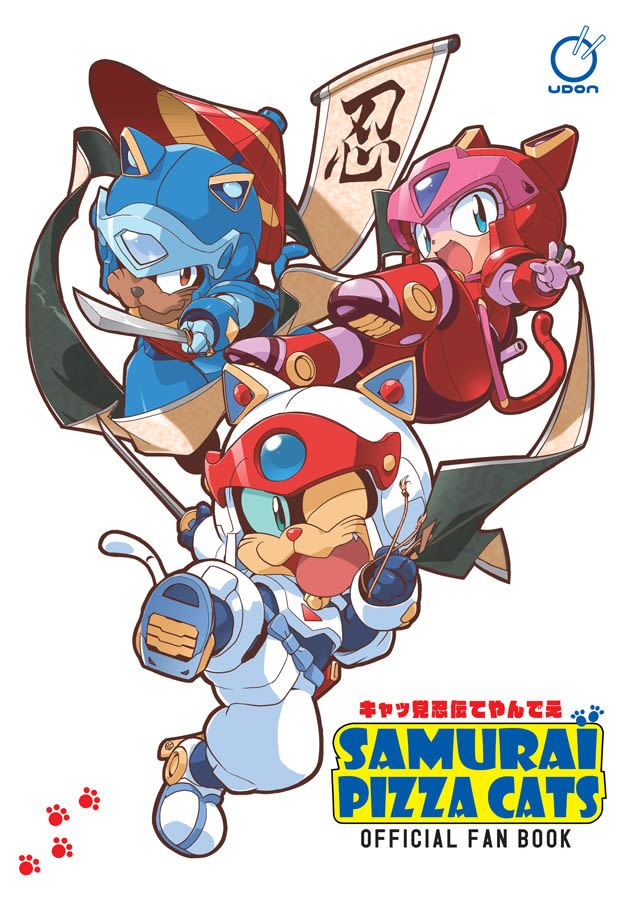 The Samurai Pizza Cats Official Fanbook Explores The