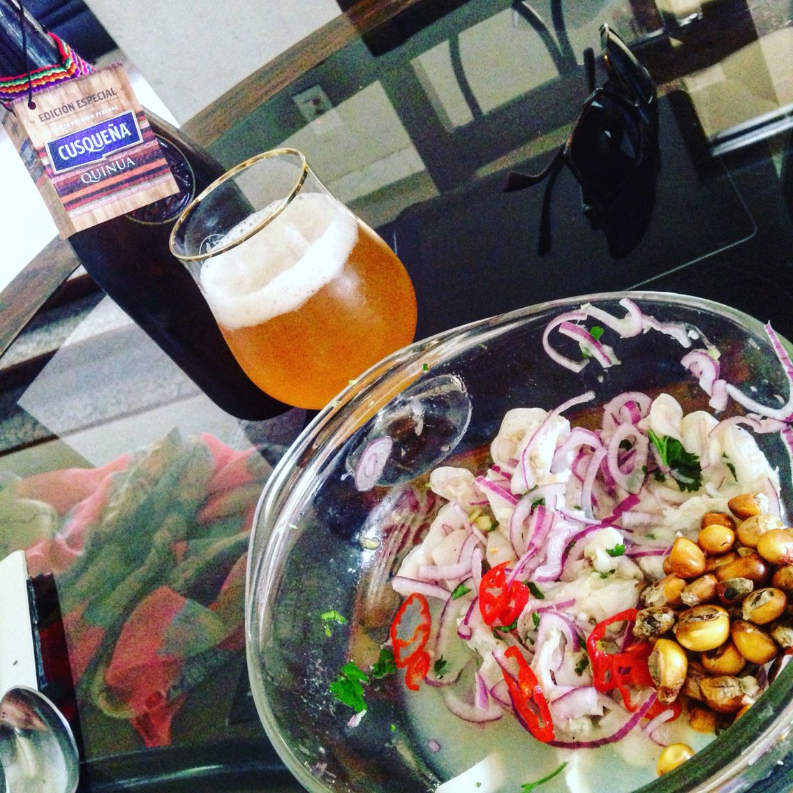 Ceviche Y Cerveza Peruvian Recipes International Recipes Food