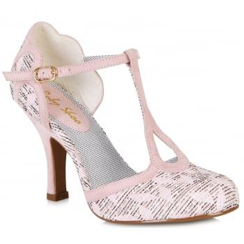 d5d66d7ee4fe8 Ruby Shoo Womens Polly Pink T-Bar Court Shoe 09079 | shoes!! | Pink ...