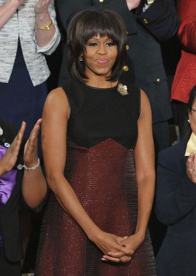 Michelle Obama wears Jason Wu to State of the Union Address 2013.