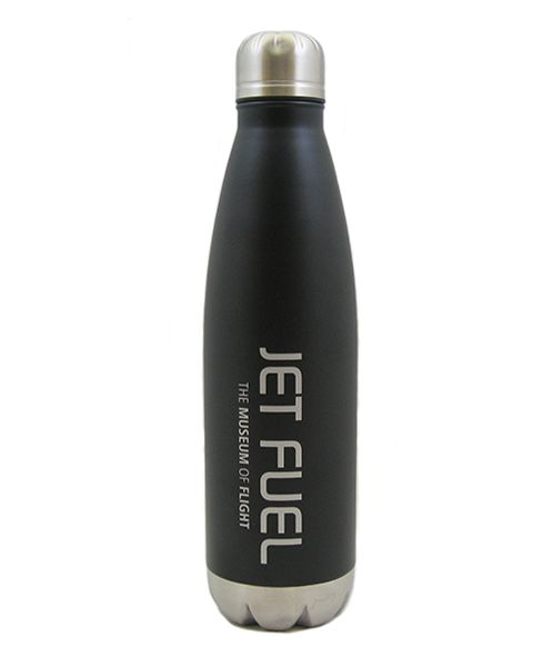 Stainless Steel Thermal Jet Fuel 26oz Water Bottle #museumofflight