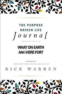 The Purpose Driven Life Journal Purpose Driven Life Book Purpose Driven Life Purpose Driven Life Bible Study