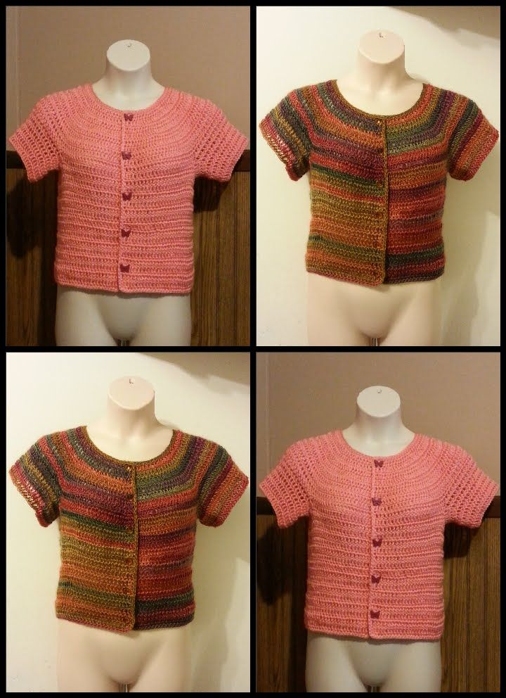 CROCHET How to #Crochet simple Button Up Womens Plus Cardigan Blouse ...