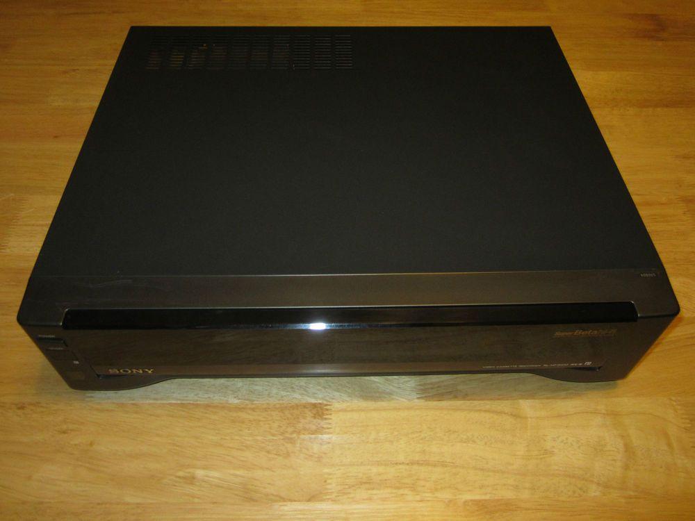 Sony SL-HF2000 Stereo Super Beta Betamax Hi-Fi Video Cassette Player Recorder #Sony #SL-HF2000 #SLHF2000 #Beta #Betamax #Hi-Fi