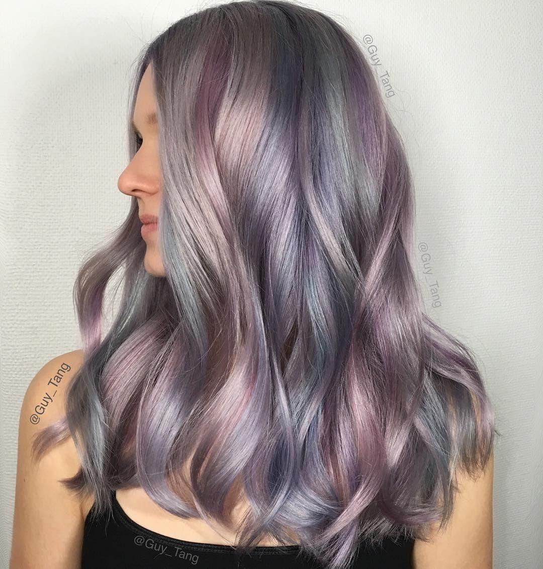 24 Best Hair Colors For Spring Summer Season 2016 Hair Color Unique Metallic Hair Pastel Purple Hair
