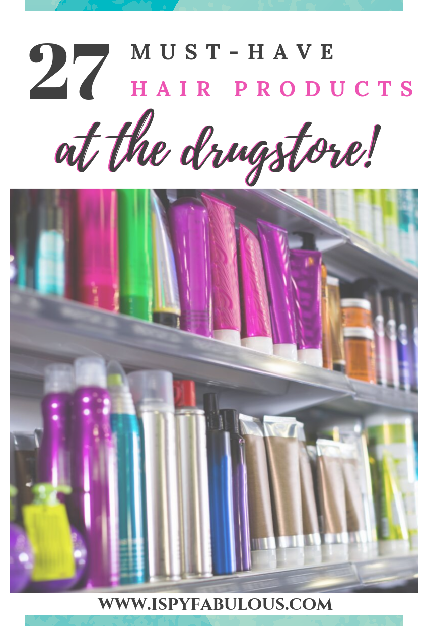 28 MustHave Hair Products at the Drugstore