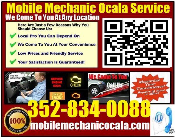 Mobile Mechanic Ocklawaha Florida Mobile Mechanic Car Repair Service Car Mechanic