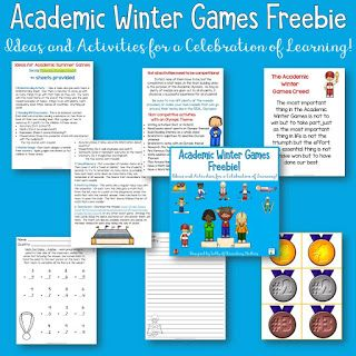 Academic Winter Sports Team Building Games Olympics Pinterest