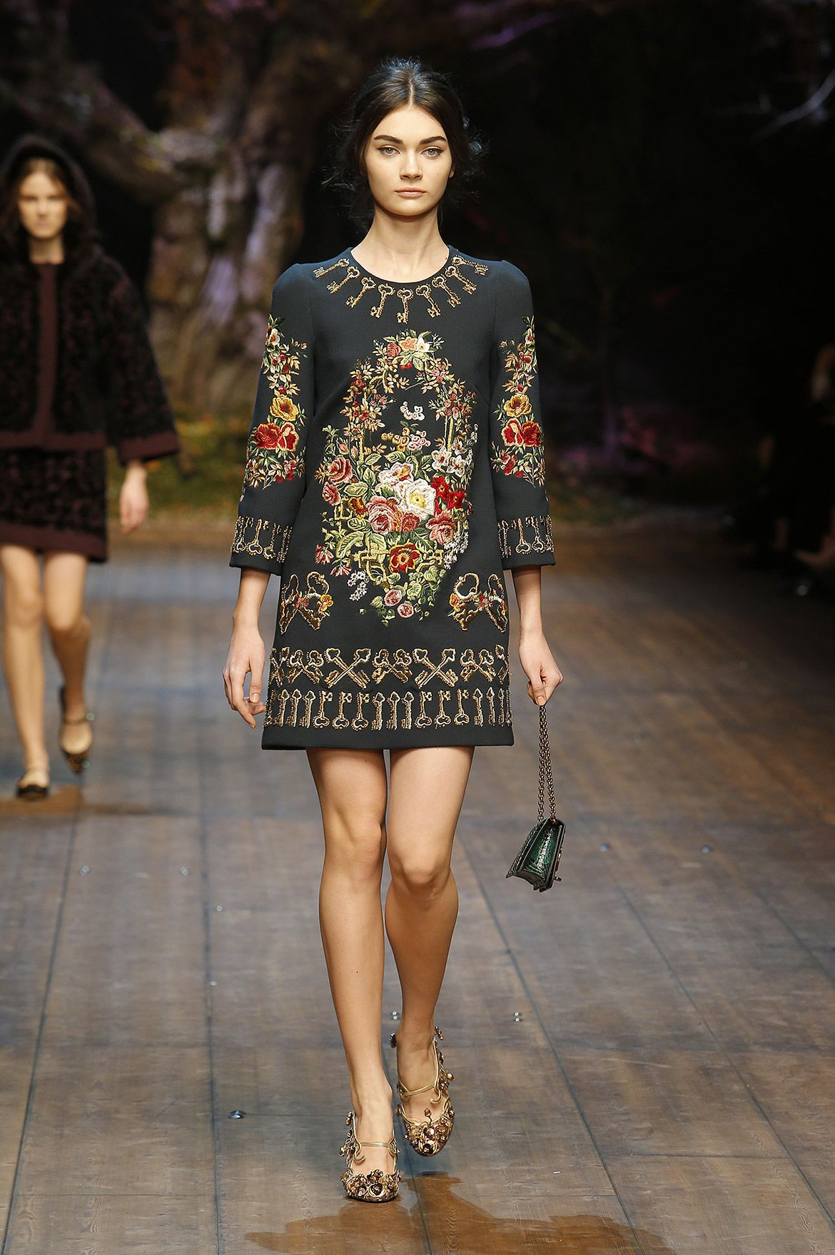 Dolce & Gabbana Women Fashion Show Gallery – Fall Winter 2014 2015 ...