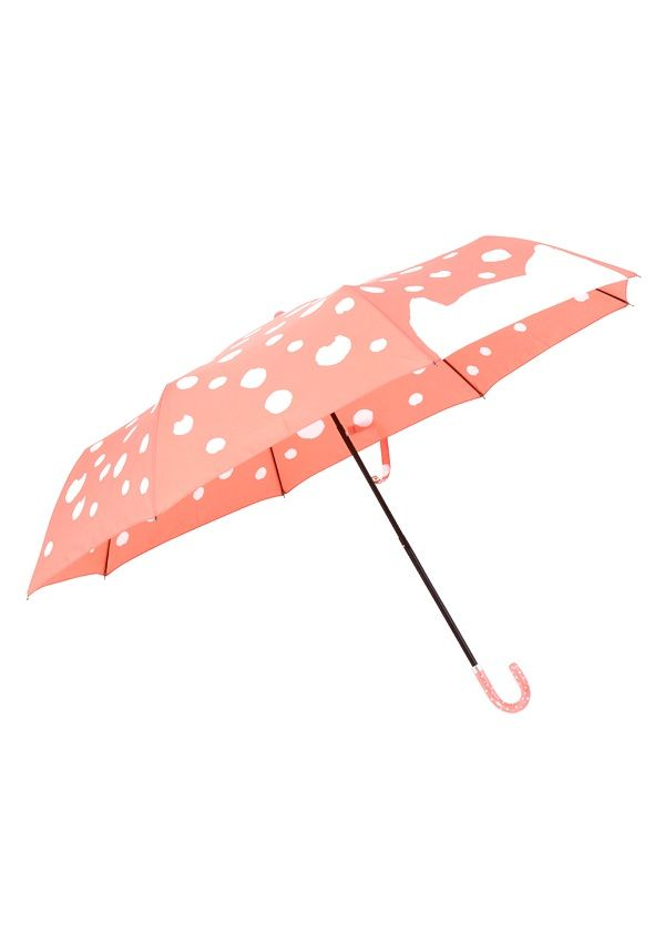 /what is this i can't deal with this cat-dotted umbrella./ Cat's TSUMORI CHISATO / S dot cat umbrella / umbrella (- light pink (17)): Goods | HUMOR Humor