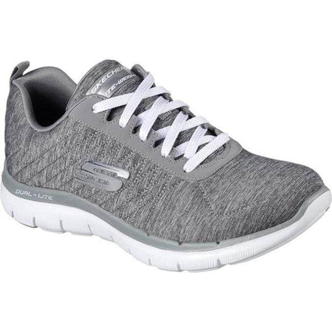 Skechers Women S Flex Appeal 2 0 Training Sneaker Gray Us Women S