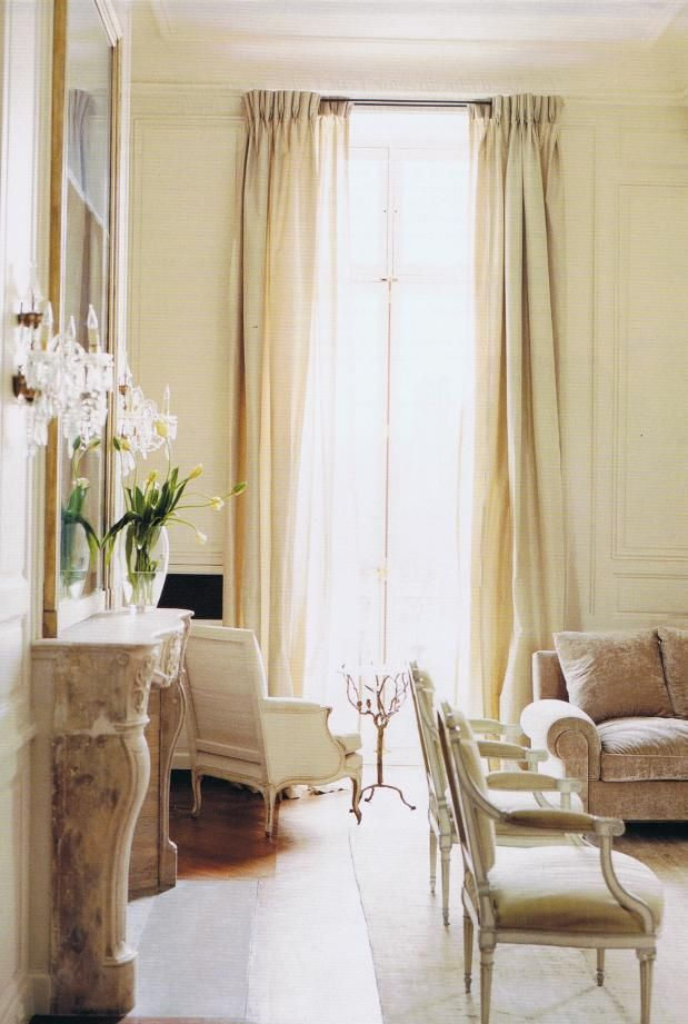 Australian Nikki Parker's Paris apartment in the Place des Vosges, decorated by Jacques Grange.