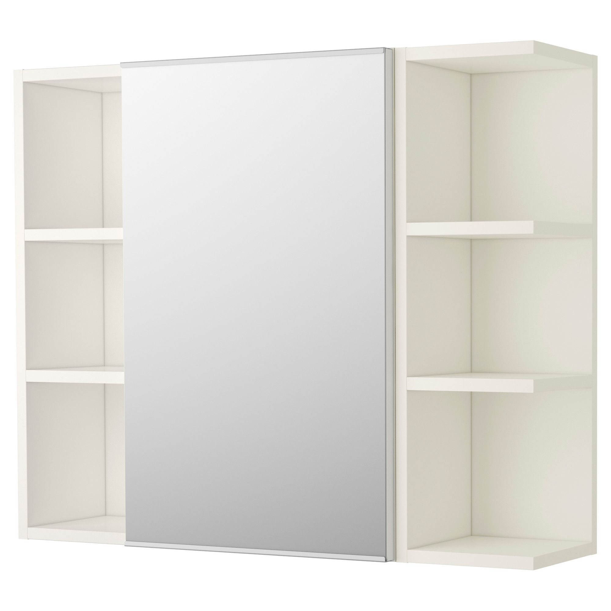 Lillangen Mirror Cabinet 1 Door 2 End Units White 30 3 4x8 1 4x25 1 4 Ikea In 2020 Ikea Bathroom Mirror Bathroom Mirror Cabinet Ikea Bathroom Storage