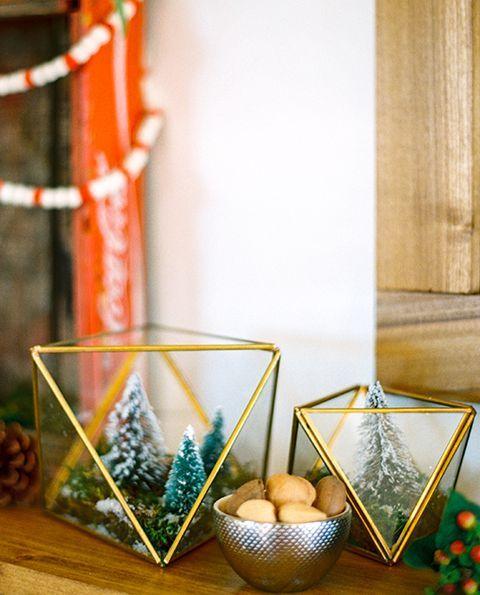 winter crafts wintertime terrarium
