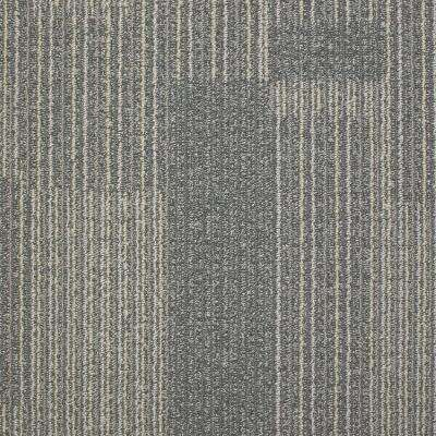 Rockefeller Nickel Loop 19.7 in. x 19.7 in. Carpet Tile (20 Tiles ...