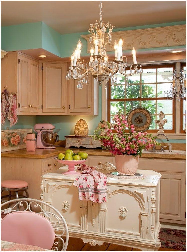 Cucina shabby chic in stile provenzale - romantico n.16 | fancy ...