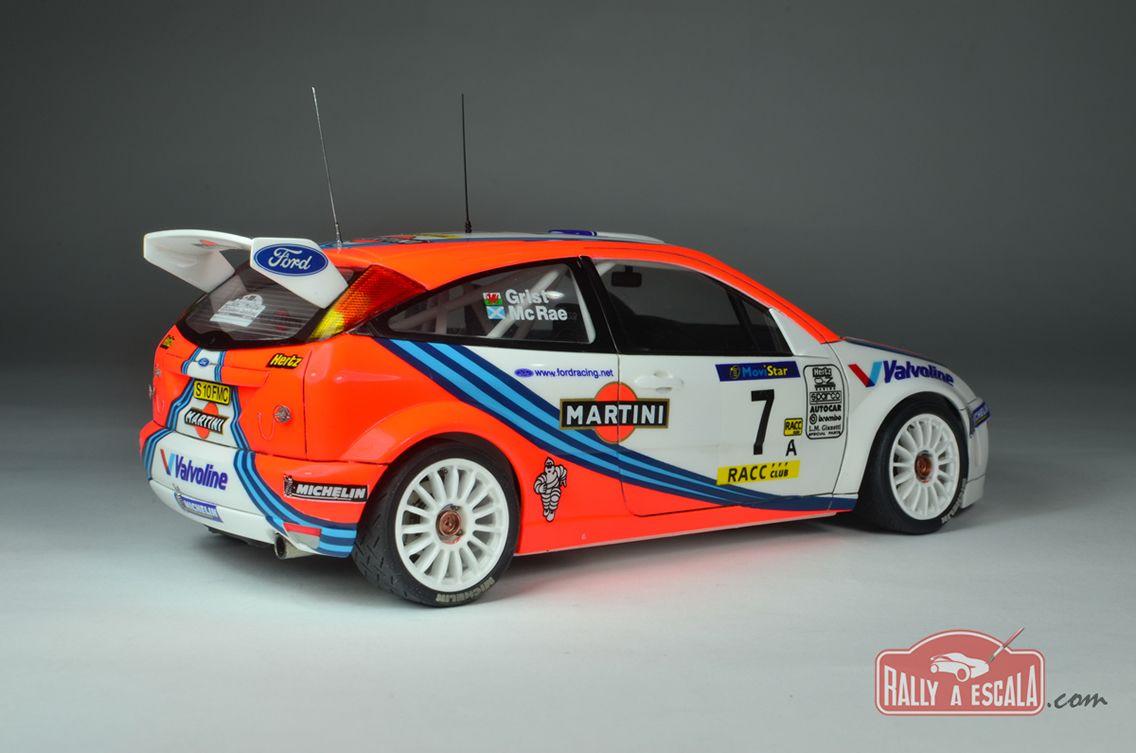 Ford Focus Wrc Rally Catalunya 99 Tamiya 1 24 Plastic Fanatic