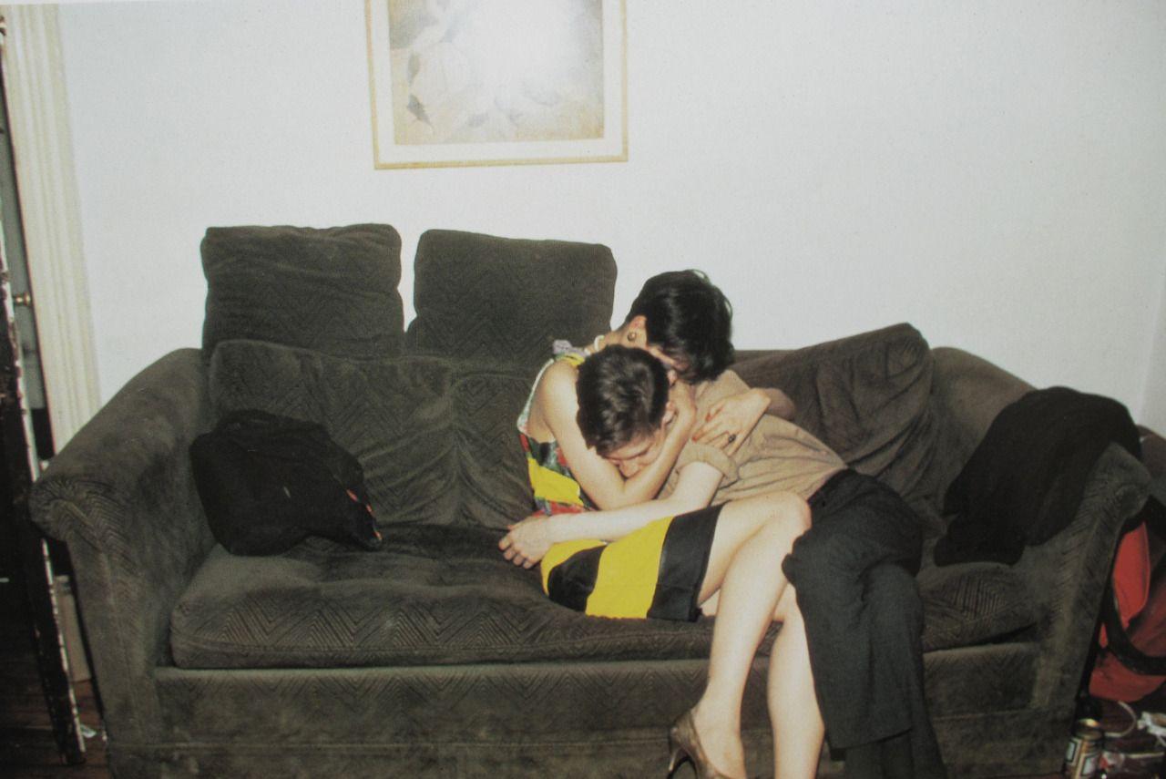 Nan Goldin, Mary and David hugging, New York City, 1980
