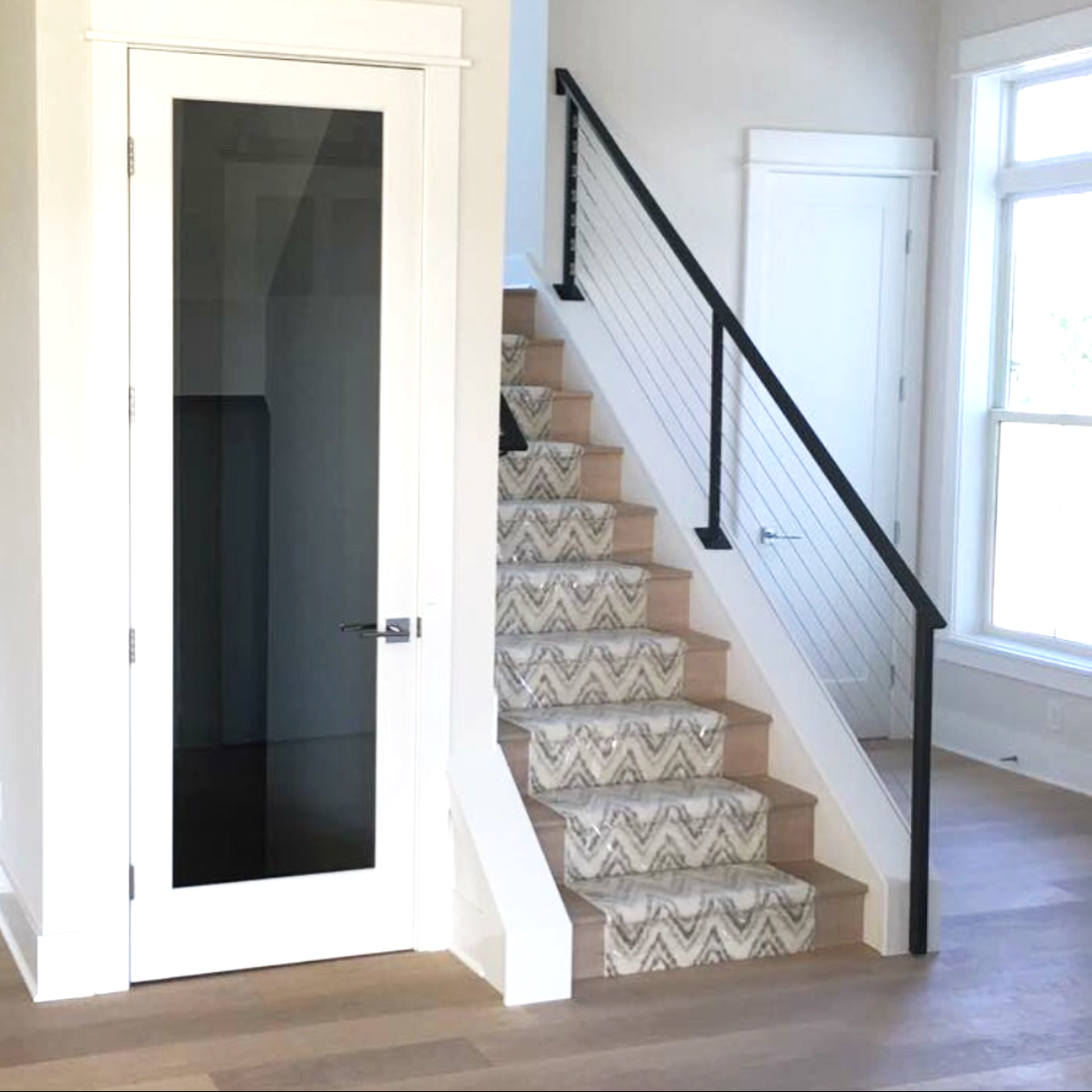 There Are Several Options For Stair Runners! | Stairs | Patterned Carpet |  Flooring |
