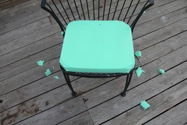 make cushions patio