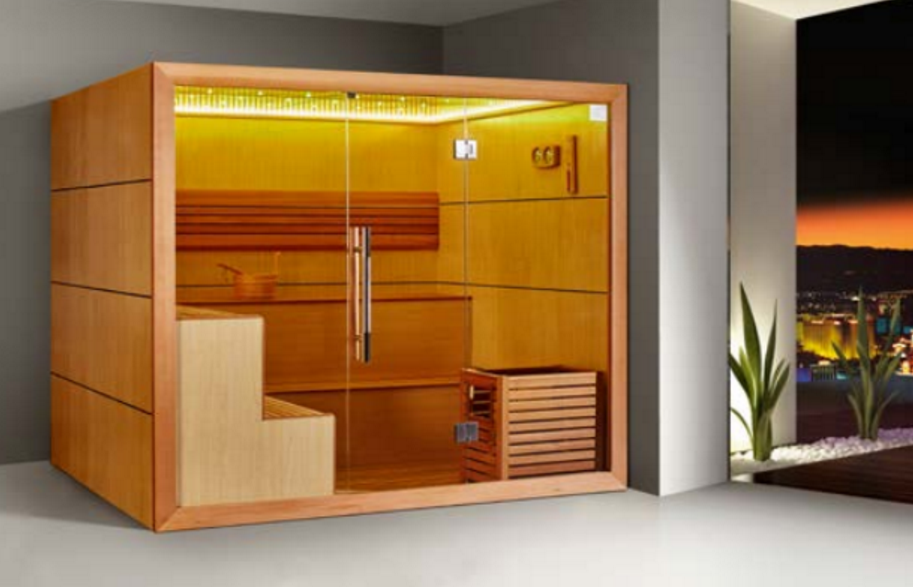 Lovely Monalisa Fashion Luxury Dry Sauna Room Nudist Sauna Enclosure With LED  Lights European Style Sauna House Sauna Factory Manufacturer Different  Prices For ...