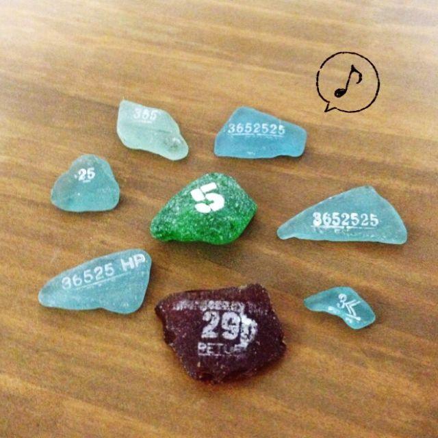 シーグラス/リメイク/ベランダガーデン/JUNK/机のインテリア実例 - 2014-11-26 07:43:55   RoomClip(ルームクリップ)
