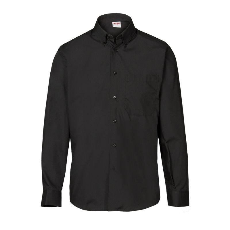 40a4d27d237c Camisa negra manga larga | CAMISAS Y BLUSAS | Mangas largas, Camisa ...