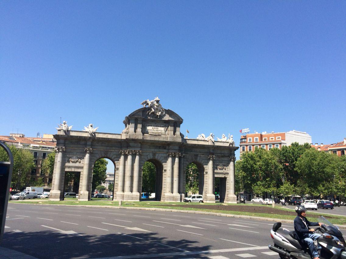 Puerta de Alcalá. Madrid.
