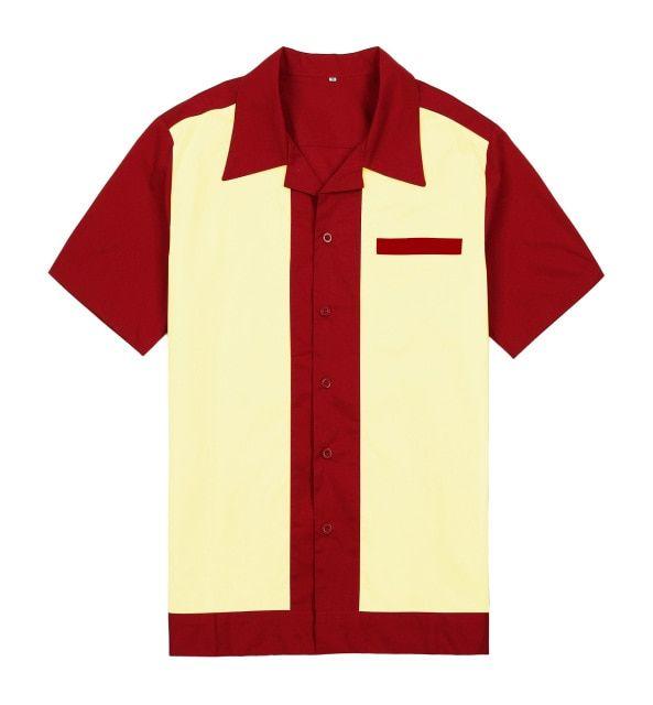 Banned Ellie Mens Plus Size Rockabilly Vintage Shirt