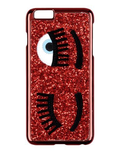 Chiara Ferragni Iphone 6 Plus Cover In Red | ModeSens | Chiara ...